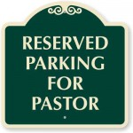 You are now the pastor