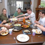 The supper is a genuine meal, not a ritual to be administered