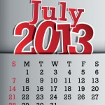 An update about July 2013